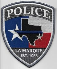 La Marque Police State Texas TX patch