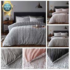 Luxury Teddy Bear Faux Fur Duvet Set Soft Fluffy Warm & Cosy Fleece Quilt Cover