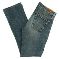 AG Adriano Goldschmied Women's Jeans The Angel Bootcut Low Rise Size 28 REG X 28