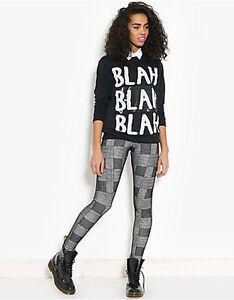 Blonde+Blonde Velvet New York Jersey Leggings Pants Bottoms, Size 8 to 10