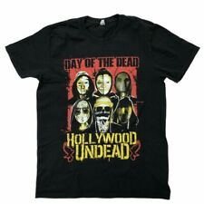 Hollywood Undead T-shirt Day Of The Dead Size Large