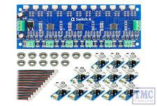 DCD-ASG DCC Concepts / Scale Cobalt Alpha Switch A Set Analogue (12 x Green)