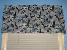 BIRDS FLY IN THE SKY Handmade Cotton  Window Valance