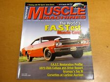HEMMINGS MUSCLE MACHINES  #26 NOVEMBER 2005  1969 SUPER BEE ON COVER