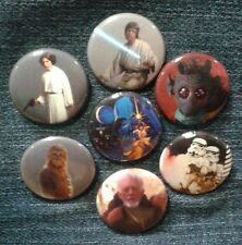 """1"""" pinback button set inspired  by """"Star Wars"""" A New Hope Set 3 of 3"""