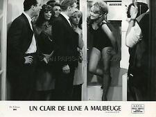 RITA CADILLAC BERNADETTE LAFONT UN CLAIR DE LUNE A MAUBEUGE 1962 PHOTO ORIGINAL
