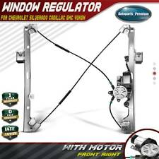 Power Window Regulator with Motor for Chevy GMC Cadillac Front Passenger Side RH