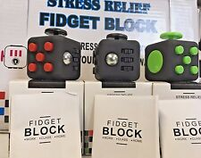 Lot of 3 Fidgit Cube Fidget Stress Anxiety Toy USA SELLER FREE SHIPPPING!