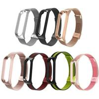 Wrist Band Bracelet Smart Watch Strap for Xiaomi Mi Band 4 Stainless Steel