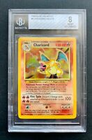 Charizard Holo Pokemon Card 1999 Base Set 4/102 Graded (PSA?) BGS 8 NM-Mint