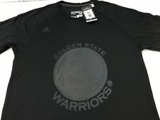 NBA Golden State Warriors Curry Adidas Name & Number Black Raglan Sleeve Med.