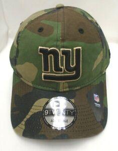 New York Giants Men's New Era 9TWENTY Adjustable Camo Cap Hat