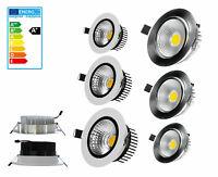 LED Einbaulampe Deckenlampe Strahler Einbaustrahler Einbau-Spot Lampe COB Licht