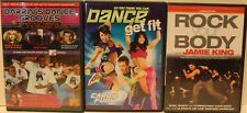 3 dance dancing workout DVDs for teens teenagers get fit cardio fitness exercise