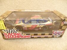 1998 Racing Champions 1:24 Gold NASCAR Jeff Burton Track Gear Ford Taurus #9