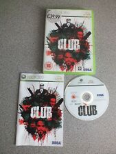 The Club 2008 Xbox 360 PAL LIVE Game