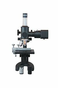 600x Metallurgical Material Laboratory Microscope w Reflected Light & XY Stage