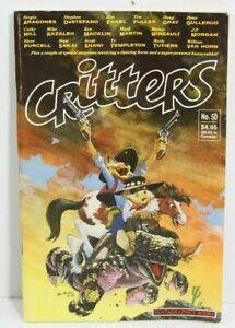 FANTAGRAPHICS: CRITTERS No. 50 SAKAI 1989