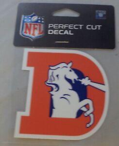 Denver Broncos Old Logo (D) Die-Cut Decal Free Shipping