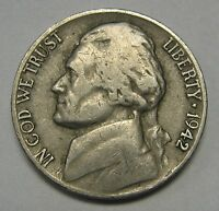 Better Date 1942-D Jefferson Nickel In The VG/FINE Range  DUTCH AUCTION