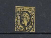 Altdeutschland Sachsen Mi-Nr. 6 gestempelt
