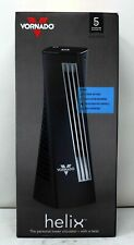Vornado HELIX2 Personal Tower Fan with 3 Speed Settings Black