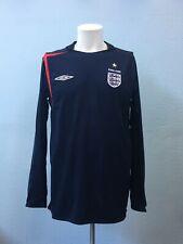 Long Sleeve England Third football shirt 2005 - 2007. Size: M. Umbro jersey