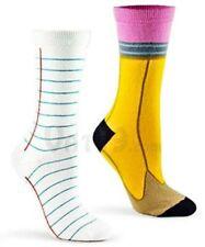 Pencil & Paper Ashi Dashi Mid Calf Crew Socks New Unisex Medium/Large Fashion