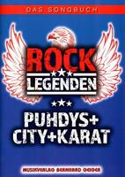 Rock Legenden - Puhdys City Karat - Songbuch - SB91 - 4260307720919