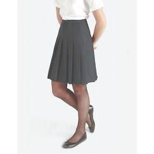 """età 14 lunghezza 18/"""" Bambina Scuola Hipster Gonna Grigio Nuovo Trutex SMART uniforme"""
