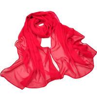 Lady Beauty Chiffon Wrap Dress Sarong Pareo Beach Bikini Swimwear Cover Up Scarf