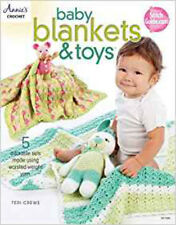 Baby Blankets & Toys: 5 Adorable Sets with Worsted-Weight Yarn, New, Teri Crews