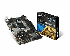 MSI H110M-PRO-VH PLUS 6th & 7th Generation Support DDR4 MotherBoard (LGA1151,
