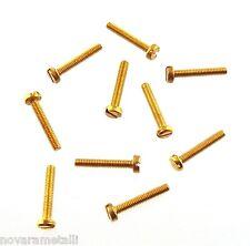 100 microviti TC taglio M1,6x6 inox viti vis fendue tornillos ranura screws