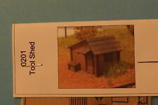 TOOL SHED N SCALE by gc laser # 0201