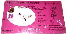 Bourjois 12 Jewel body transfers New