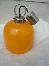 Lampe Deckenlampe DDR 70/ger Jahre Orange