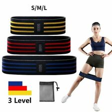 Resistance Bands Loop Fabric Hip Circle Booty Glute Leg Squat Exercise Fitness