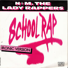 N + M THE LADY RAPPERS-SCHOOL RAP SINGLE VINILO 1986 SPAIN