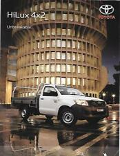 Toyota Hilux 4 x 2 I., SR et SR5 Australian sales brochure tard années 2000