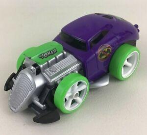 DC Comics Shake N Go Joker Car Ratrod Vehicle Purple Batman Sound Toy Mattel