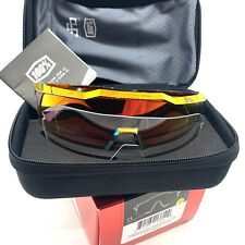 100% Speedcraft Peter Sagan Cycling Sunglasses With Cases Lens Nose Piece