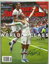 Megan Rapinoe Signed Sports Illustrated  USA Women's Soccer World Cup Auto
