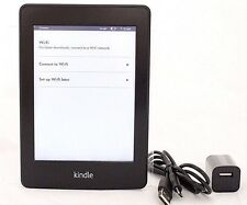 Amazon Kindle Paperwhite, 2nd Gen, Wi-Fi + 3G, Black  *07-2C