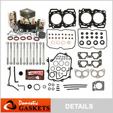 Fit 99-03 Subaru Impreza Forester 2.5L SOHC MLS Head Gasket Bolt Set+Timing Kit