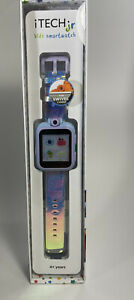 New  iTech Jr Kids Smartwatch Iridescent Pink/ Purple  Camera Games Watch