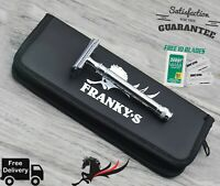 Vintage Stainless Steel Double Edge Safety Razor + Free Derby Blades & Pouch
