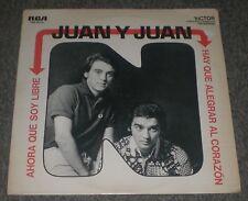 Hay Que Alegrar Al Corazon Ahora Que Soy Libre Juan Y Juan~RARE 1971 Latin~FAST!