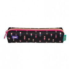 Milan Mini Size Single Zip Fabric Pencil Case Ideal School/College/UNI Copper
