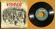 "EP 1967 BOFTV "" Vidocq "" Musique: Serge GAINSBOURG Chez Philips N° 437.290 BE Ⓜ"